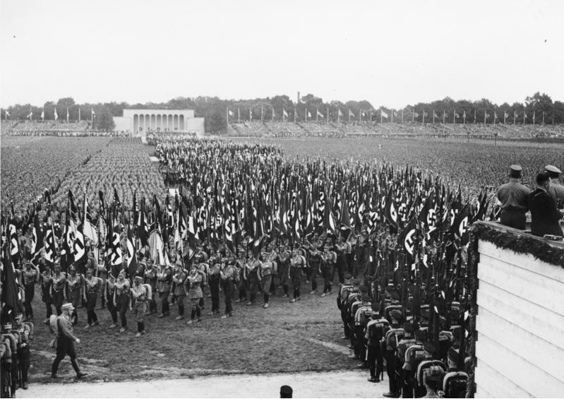 SA-Aufmarsch Reichsparteitag Nürnberg 1937