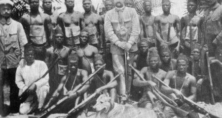 Deutsche Kolonialpolizei in Kamerun